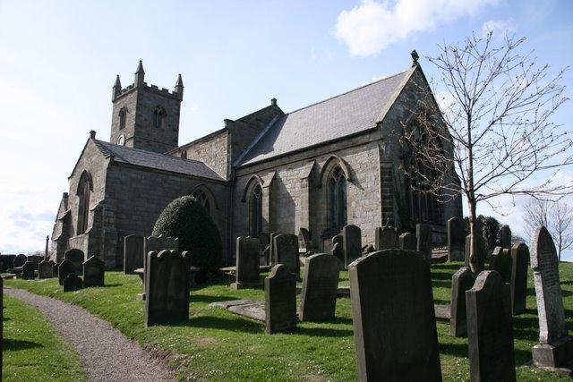 A photograph of Whittingham Parish Church