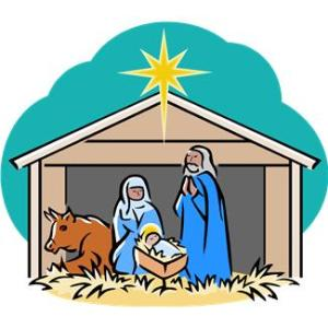 Representation of the nativity scene