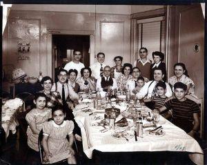 italiaans familiediner