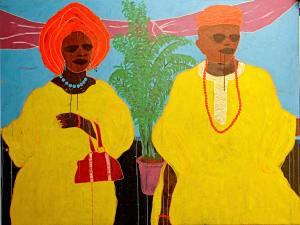 17Big-Man-and-Madam-Acrylic-On-Canvas-200-x-150-cm-2013