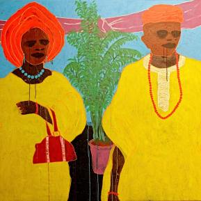 17Big-Man-and-Madam-Acrylic-On-Canvas-200-x-150-cm-2013
