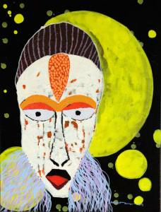 25Untitled-number-two-Acrylic-Glitters-on-Canvas-65.5-x-50-cm-2013
