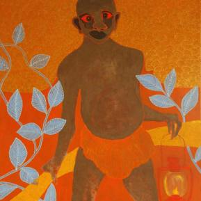 30Mythical-Bush-Baby-Acrylic-and-glitter-on-canvas-130-x-160cm-2012