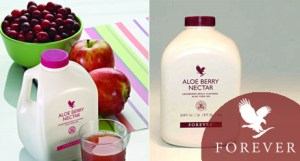 aloe berry nectar with cranberry and apple juice