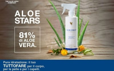 Aloe First – Spray all'Aloe Vera
