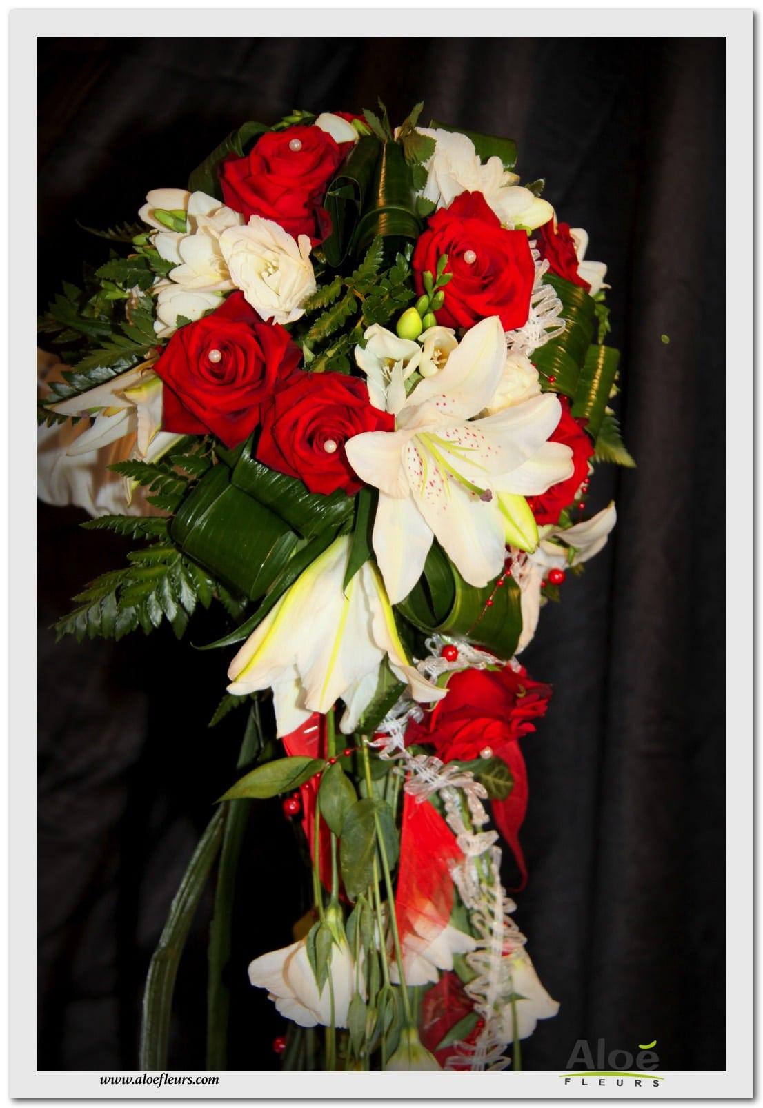 Bouquets De Marie Cascade En Images ALOE FLEURS