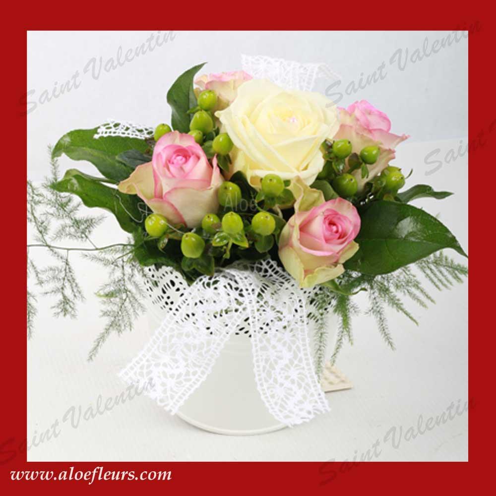 Saisons Lart Floral Pour La Saint Valentin ALOE FLEURS