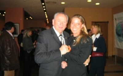 Martina Hahn e Rex Maughan (Forever Living Products) a Milano
