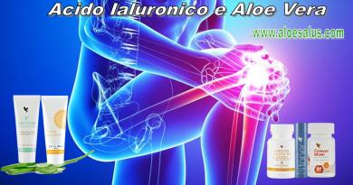 Acido Ialuronico e Aloe Vera
