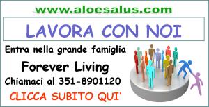 Lavora con Forever Living e Aloe Salus