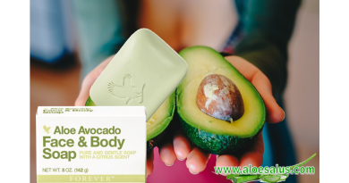 Sapone Forever Aloe Avocado Face & Body Soap