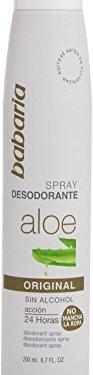 Babaria – Spray Desodorante con Aloe – Acción 24 horas – 200 ml