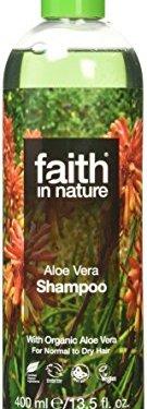 Fe en la naturaleza Aloe Vera Champú Fortalecimiento Normal y Seca 400ml Cabello
