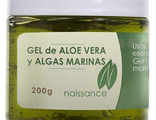 Gel de Aloe Vera y Algas Marinas – Ingrediente Natural – 200g