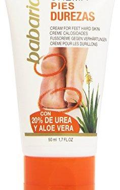 Babaria – Crema para pies durezas – con 20% de urea y aloe vera – 50 ml