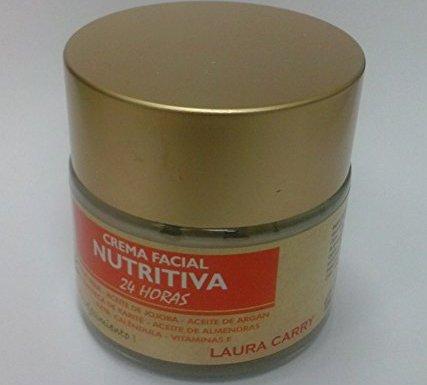 Crema Facial Nutritiva 24 horas Aloe Vera y Argán – Cosmética Natural
