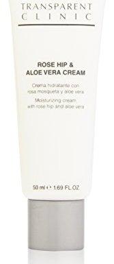 Transparent Clinic – Rose Hip & Aloe Vera Cream – Crema hidratante con rosa mosqueta y aloe vera – 50 ml