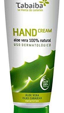 Crema de manos de Aloe Vera 100ml.