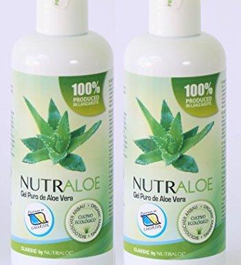 Nutraloe Gel puro de Aloe Vera 250ml x 2uds