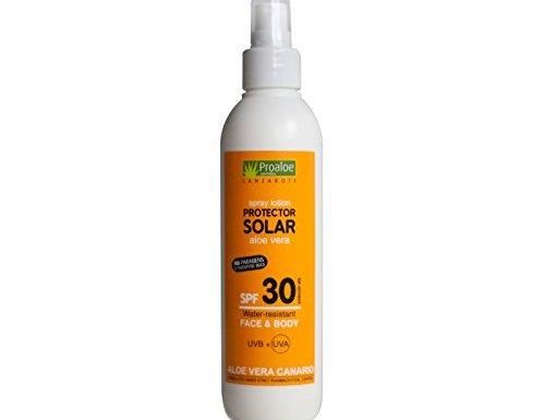 Protector Solar en Spray con Aloe Vera SPF30 200ml