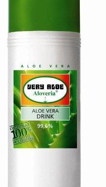 Aloveria jugo para beber 99,6% Aloe Vera 250ml