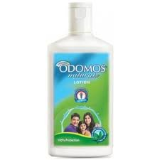 Odomos Naturals Scented Mosquito Repellent Lotion 120ml | Natural Citronella and Aloe Vera Lotion