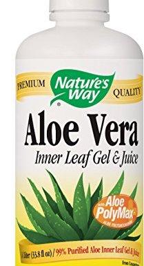 Aloe Vera, Gel & Juice, 33.8 fl oz (1 Litre)