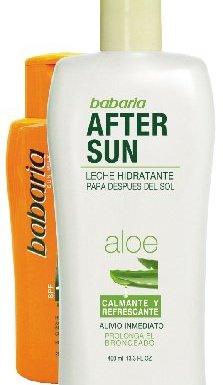 Babaria Leche Solar + Loción Calmante Aftersun Aloe Vera – 1 Pack