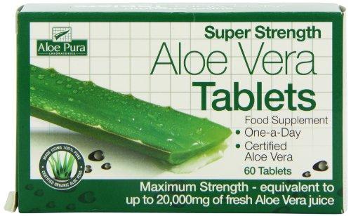 Optima Health Aloe Pura Super Strength Aloe Vera 60 Tablets