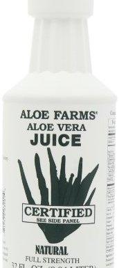 Aloe Farms – Jugo orgánico de Vera del áloe – 32 oz.