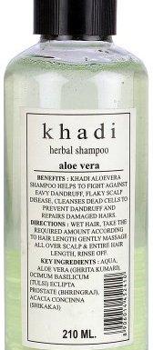 khadi Champú de Hierbas Aloe Vera 8fl. oz/210ml