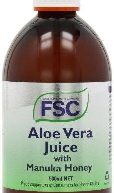 FSC Organic Aloe Vera Plus Manuka Honey Juice 500ml by FSC
