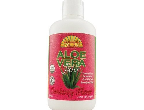 Dynamic Health Organic Aloe Vera Juice Cranberry by Dynamic Health