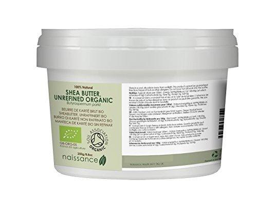 Manteca de Karité BIO Sin Refinar 250g – Ingrediente Natural 100% Puro – 250g