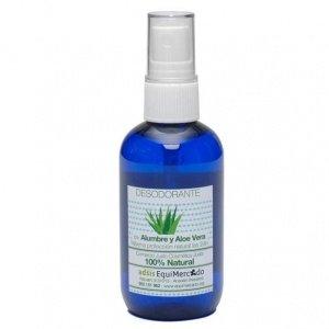 Desodorante Con Alumbre Y Aloe Vera Spray Ecológico Bio 100ml