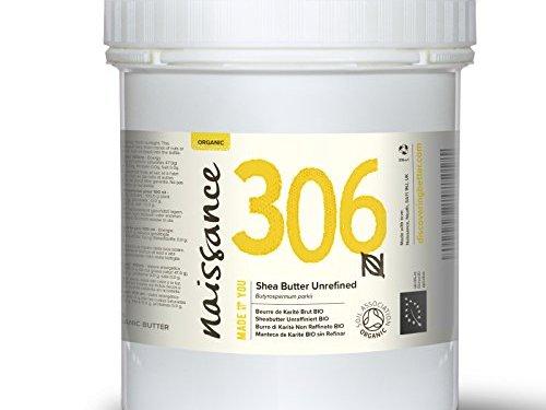 Naissance Manteca de Karité BIO Sin Refinar – Ingrediente Natural 100% Puro – 500g
