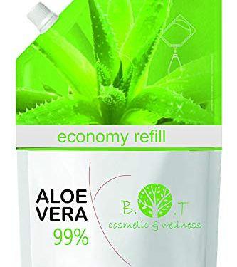 Recarga Ahorro 99% Gel Puro de Aloe Vera 1000 ml – recarga económica 1 kg