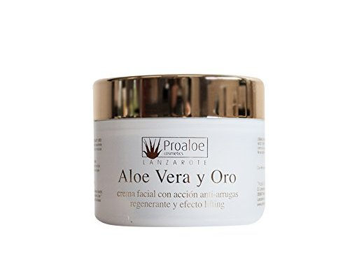 Crema Facial Antiarrugas y Lifting Aloe Vera & Oro 100ml