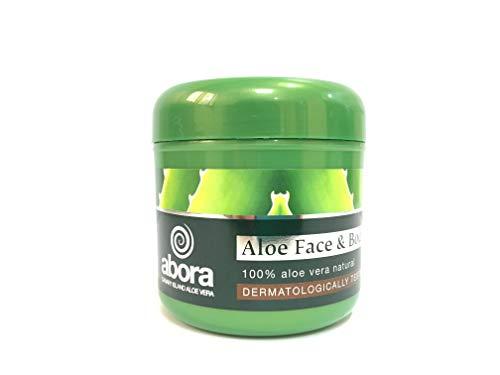 Abora Aleo Vera Cream, Crema Hidratante Facial y corporal con  aloe vera, 300 ml
