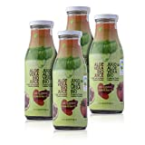 Green Frog Jugo de Aloe Vera Bio con Granada, Aloe Vera Fresco para Beber Ecológico Elaborado en España Pack de 4 Botella, 4×500 ml