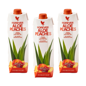 forever Tri pack Aloe Gel Peaches