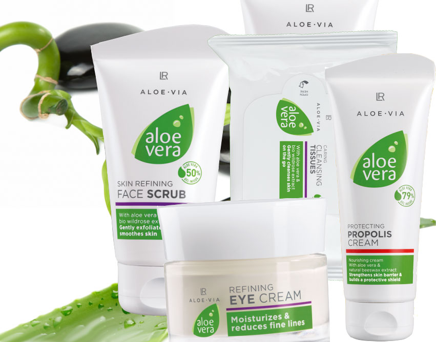 Aloe-Via Aloe Vera - L'or vert pour le soin de la peau et du visage