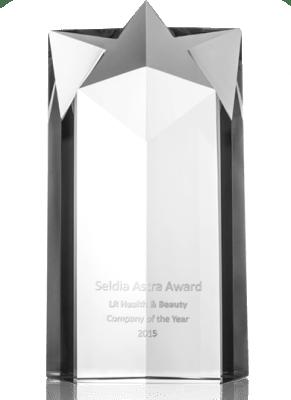 SELDIA - LR élue meilleure société de vente directe en 2015