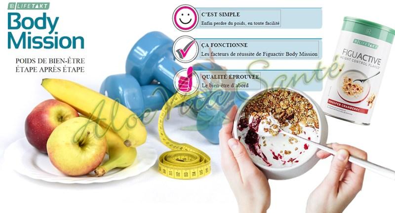 LR Lifetakt Body Mission pour perdre du poids sainement & durablement