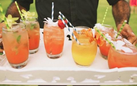Guava Mojito, Kula Kiss and Lavender Lemonade