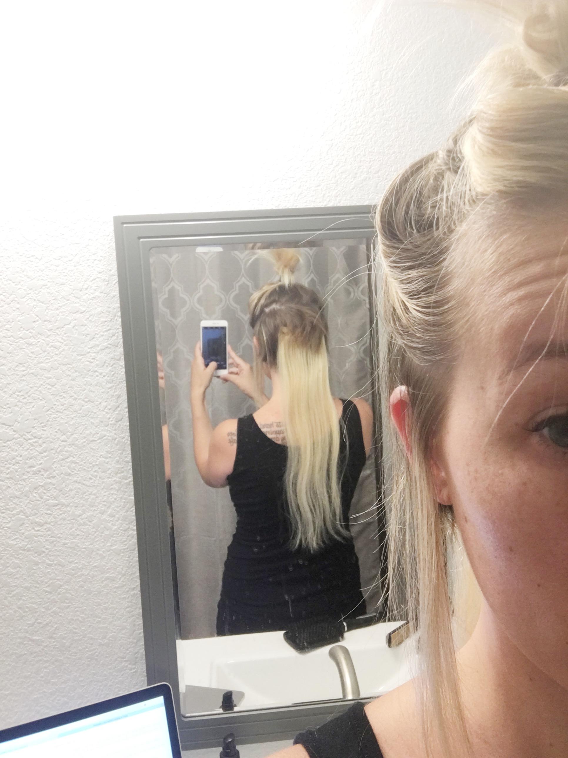 mom hair