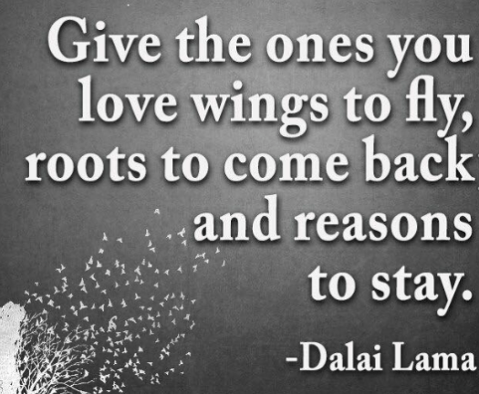 give those you love wings...