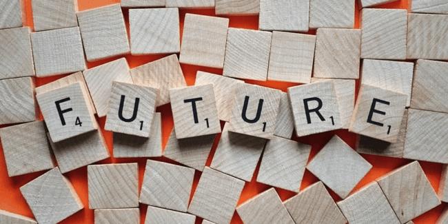 英語での未来形イメージ