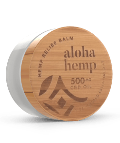 Final Bamboo 500mg Hemp Relief Balm - Front Side 3