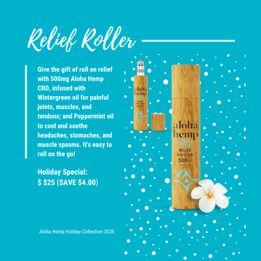 Holiday Collection 2020 - Relief Roller